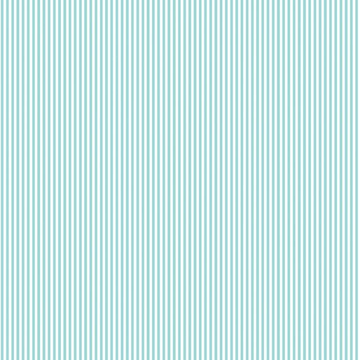 Benartex My Little Sunshine Pinstripe Turquoise