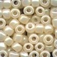 Mill Hill Glass Pebble Beads 05147 Oriental Pearl