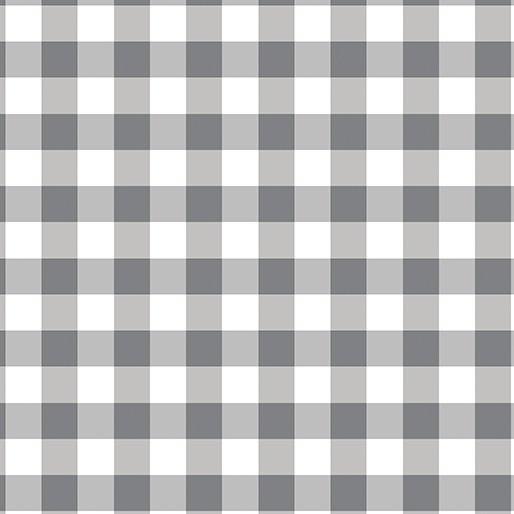 Benartex Warp & Weft Checkerboard Gray