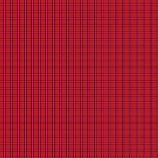 Benartex Warp & Weft Tiny Plaid Red