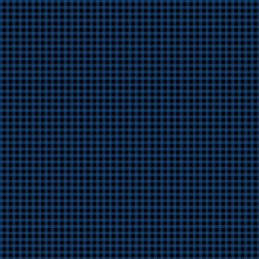 Benartex Warp & Weft Mini Gingham Blue