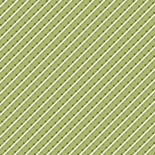 Benartex Home Grown Stripe Green