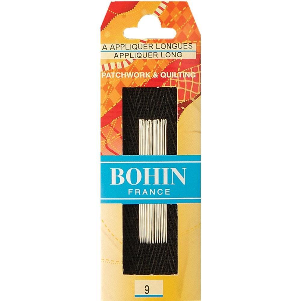Bohin Applique Long Needles Size 9