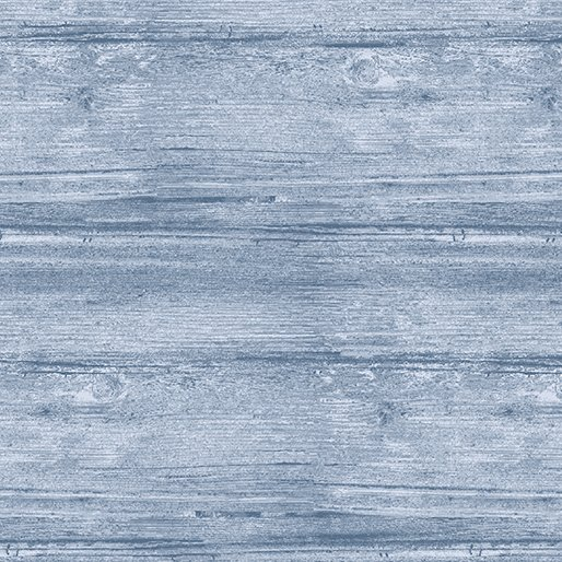 Benartex Washed Wood Sea Blue