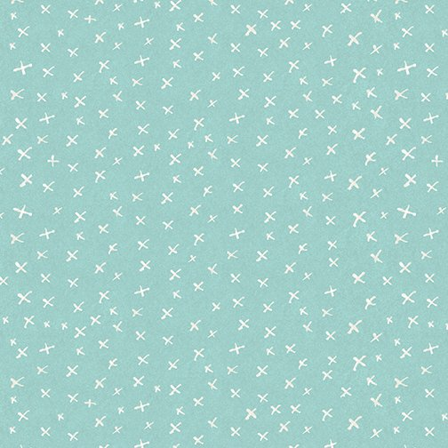 Contempo It's Raining Cats and Dogs Criss Cross Teal