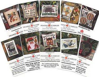 PT CS Prairie Schooler Mini Card Set A Farmers Market