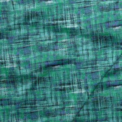 Fabri-Quilt Brushstrokes Turquoise
