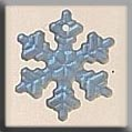 Mill Hill Glass Treasures 12161 Small Snowflake Crystal