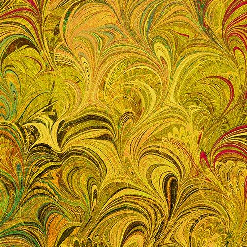 Benartex Poured Color Cosette Gold