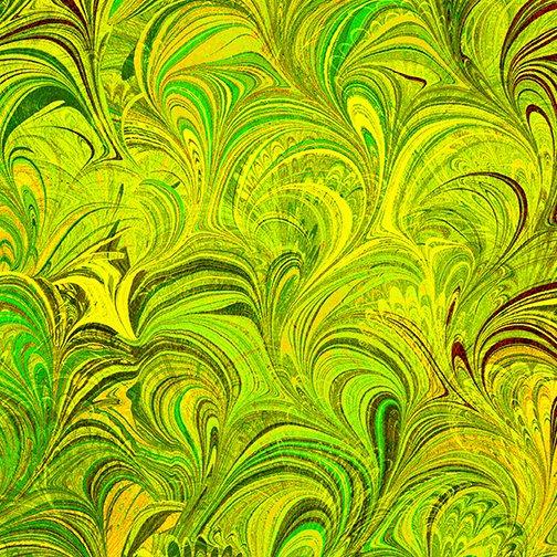 Benartex Poured Color Cosette Lime