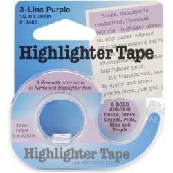 Blue Highlighter Tape
