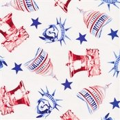 Blank Quilting One Land, One Flag Patriotic Icons