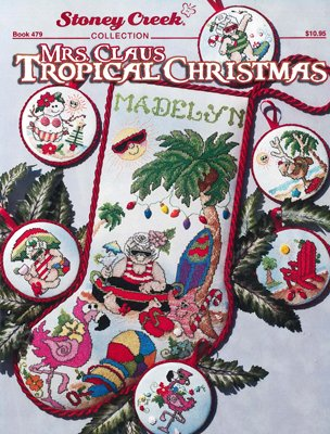 BK CS Stoney Creek Mrs. Clause Tropical Christmas