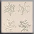 Mill Hill Metal Treasures Snowflakes