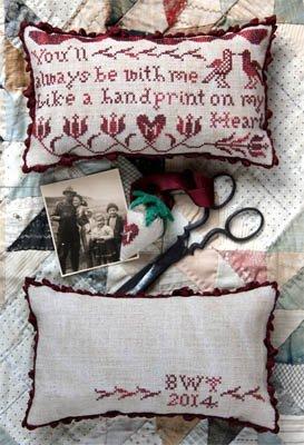 PT CS Heartstring Samplery Handprint On My Heart