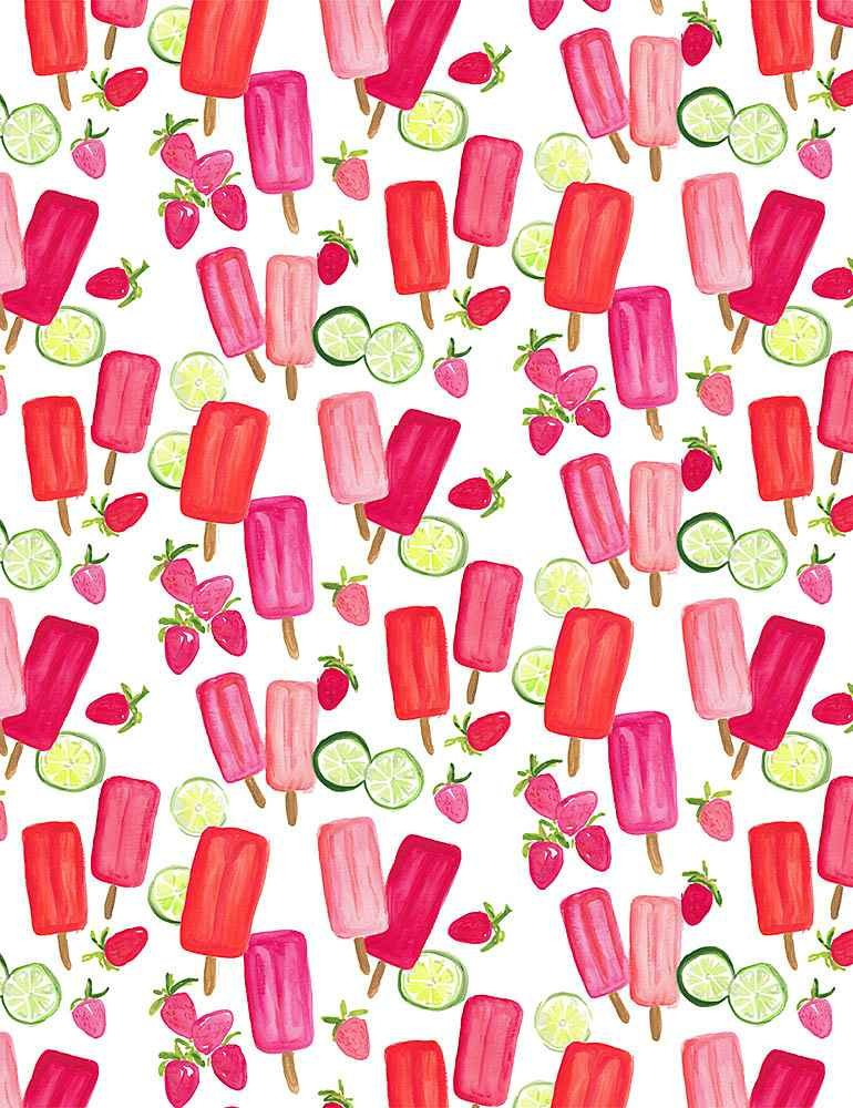 Dear Stella American Summer Popsicles White