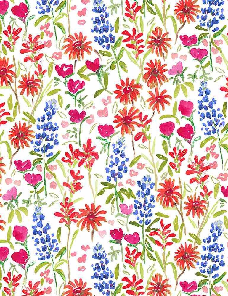 Dear Stella American Summer Texas Wildflower White