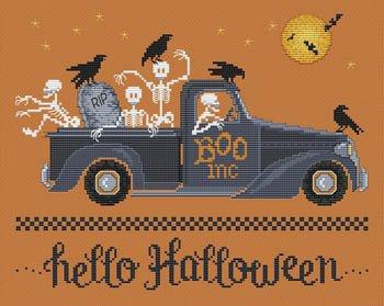 PT CS Sue Hillis Designs Hello Halloween