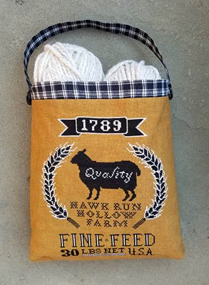 PT CS Carriage House Samplings Sheep Feed Sack