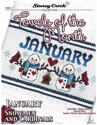 PT CS Stoney Creek Towels of the Month January