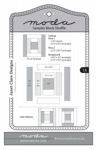 moda shuffle block 15