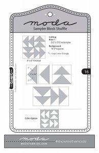 moda shuffle block 16