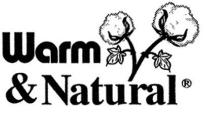 Batting Warm & Natural Cotton King 120 x 124