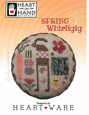 PT CS Heart in Hand Spring Whirligig
