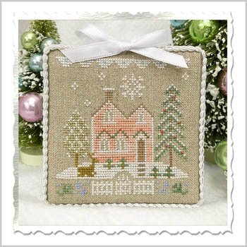 PT CS Country Cottage Glitter House 6