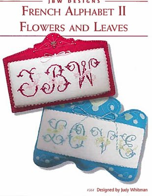 PT CS French Alphabet II Flowers and Leaves
