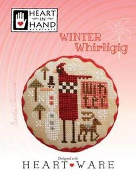 PT CS Heart In Hand Winter Whirligig