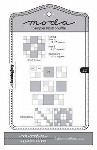 Moda Shuffle Block 22