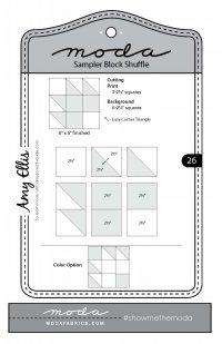 Moda Shuffle Block 26