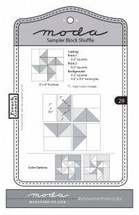 Moda Shuffle Block 29