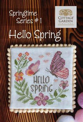 PT CS Cottage Garden Hello Spring