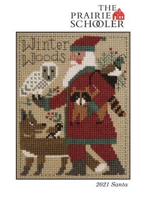PT CS Prairie Schooler Santa 2021