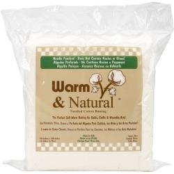 Batting Warm & Natural Cotton Queen 90x 108