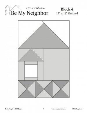 Be My Neighbor Block 4