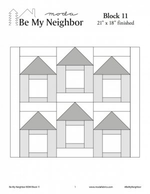 Be My Neighbor Block 11