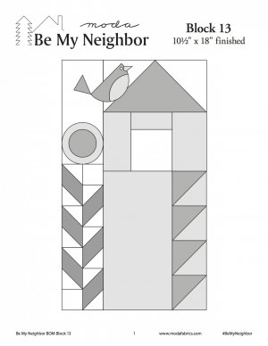 Be My Neighbor Block 13