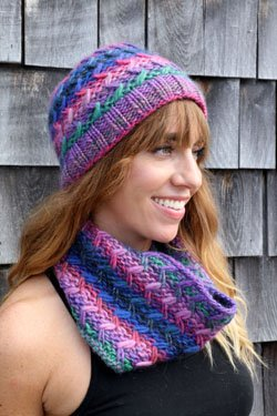 PT KN Zig Zag Cowl and Hat