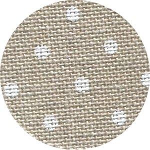 CS Fabric 32ct Belfast Petit Point Raw/White Dot F8