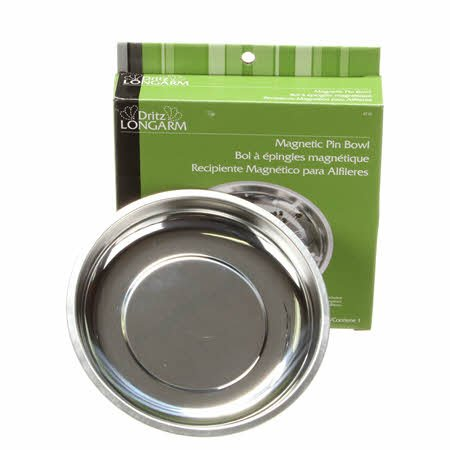 Magnetic Pin Bowl Silver