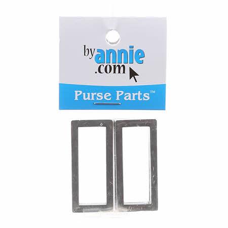 ByAnnie 1 1/2 Nickel Rectangle Rings