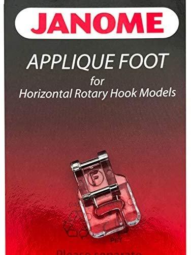 Foot Janome Applique  F (Top Load)