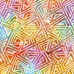 Anthology Fashion Rayon Graphic Maze
