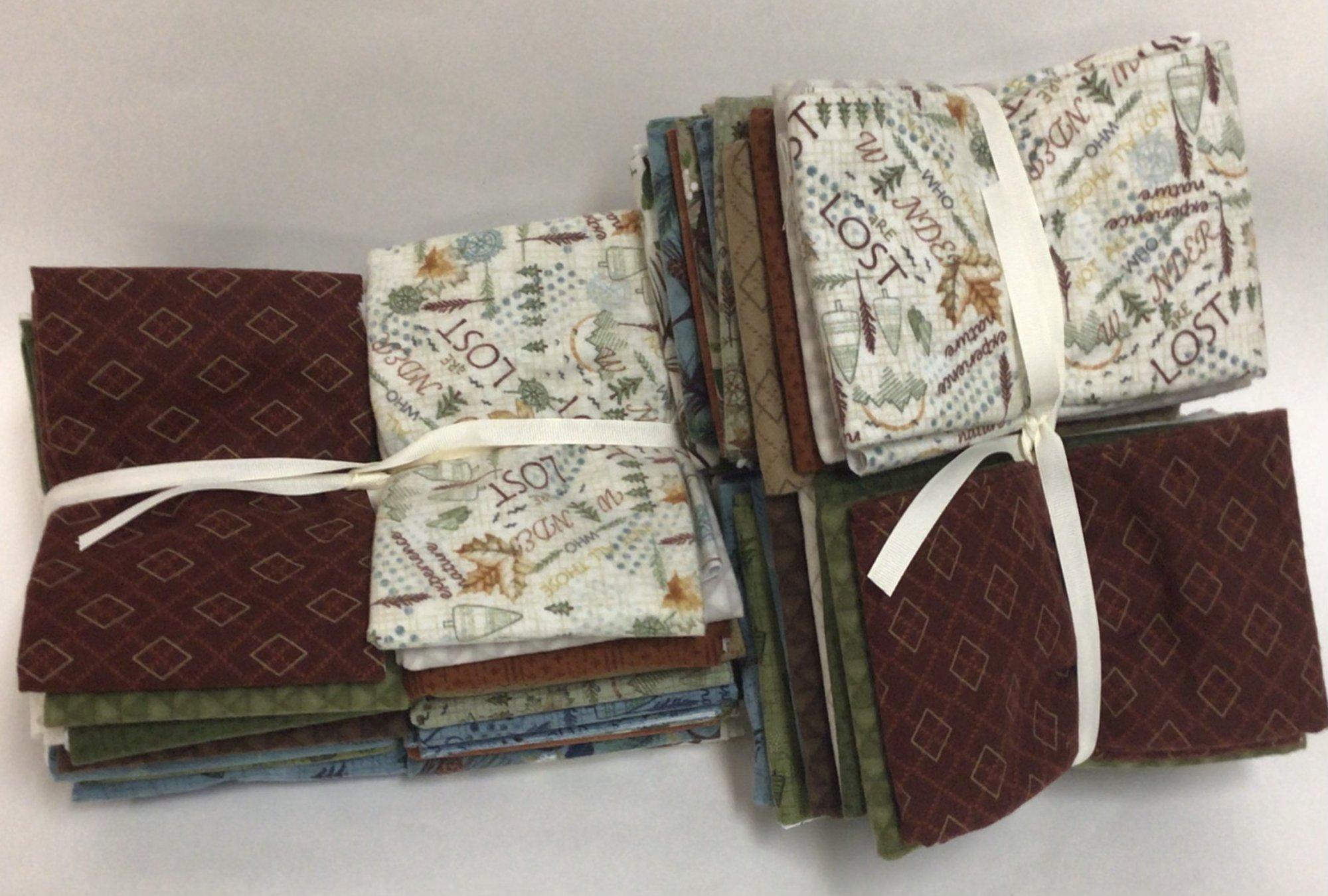 Henry Glass Folk Art Flannel IV Fat Quarter Bundle of 21