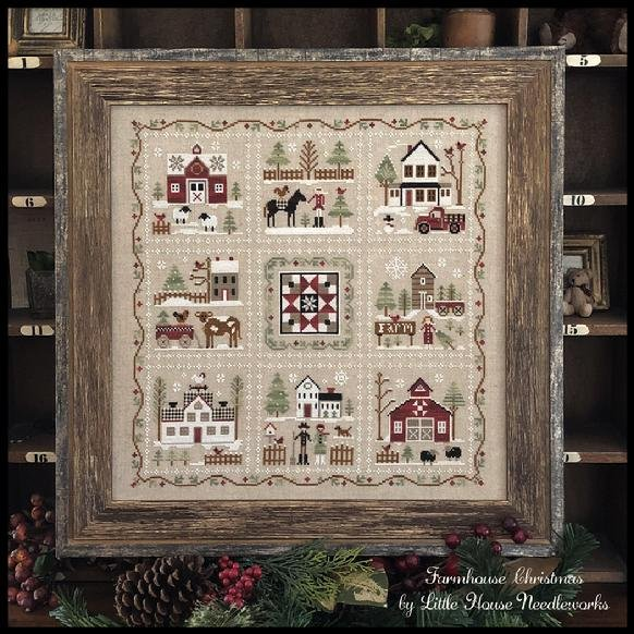 KIT CS Complete Farmhouse Christmas Pattern Pack