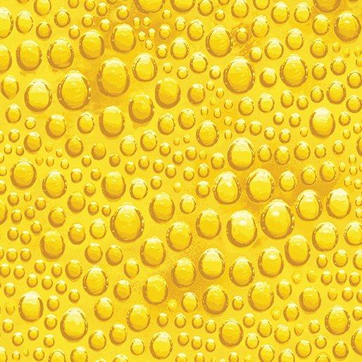 Benartex Glass House Glass Bubble Yellow