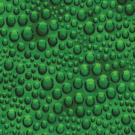 Benartex Glass House Glass Bubble Green